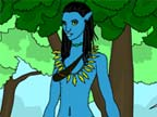 Play Avatar World Coloring Game