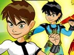 Play Ben 10 Dress Up Game