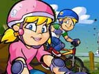 Play Bike Rally on TopFrivGames.COM