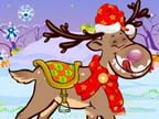Play Christmas Reindeer on TopFrivGames.COM