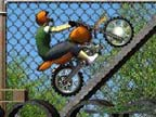 Play Construction Yard Bike Game