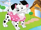 Play Cute Puppy Dress Up on TopFrivGames.COM