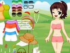 Play Cute Wendy Dress Up on TopFrivGames.COM