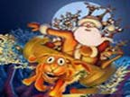 Play Funny Christmas Puzzle on TopFrivGames.COM