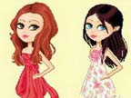 Play Gossip Girls Style Dressup 1 on TopFrivGames.COM