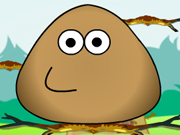 Play Pou Jump Adventure on TopFrivGames.COM