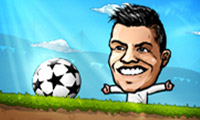 Play Puppet Soccer on Games440.COM