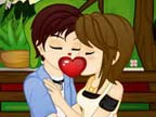 Play Romantic Kisses on TopFrivGames.COM