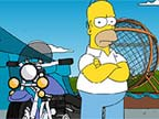 Play Simpsons Ball of Death on TopFrivGames.COM
