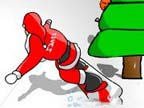 Play Snowboarding Santa Game