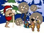 Play Stoneage Santa on Games440.COM