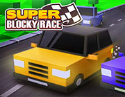 Play SUPER BLOCKY RACE on Games440.COM
