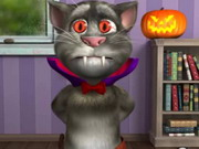 Play Tom cat halloween fun on TopFrivGames.COM